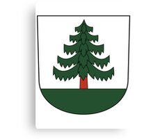 Coat of arms Canvas Print