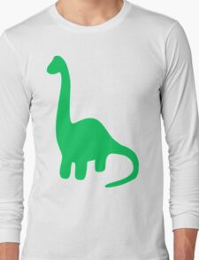 Brachiosaurus, Long-Neck Dinosaur (Loch Ness Monster) Long Sleeve T-Shirt