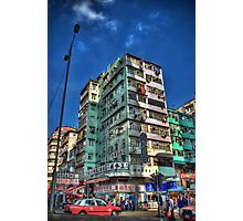 Lai Chi Kok Rd - Sham Shui Po the HDR Touch Photographic Print