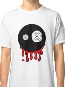 Funny cartoon bleeding head Classic T-Shirt