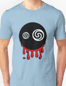 Funny cartoon bleeding head Unisex T-Shirt