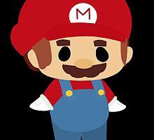 Mini Mario Chibi by KSketchington