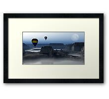 Journey Into The Wastelands  Framed Print