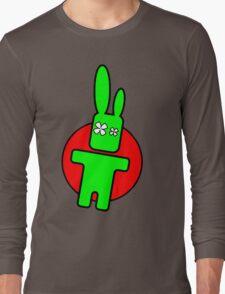Funny cartoon bunny Long Sleeve T-Shirt