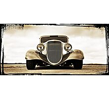 1933 Ford Coupe Lomo Photographic Print