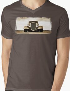 1933 Ford Coupe Lomo © Mens V-Neck T-Shirt