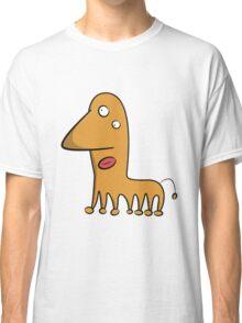 Funny cartoon alien Classic T-Shirt