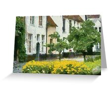Beguinage - Lier Greeting Card