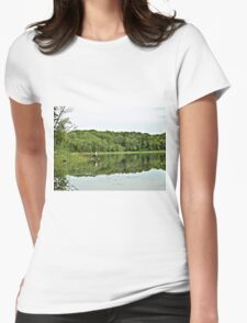 Reflections At Lebanon Hills Park Womens Fitted T-Shirt