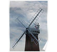 Horsey Windpump, Norfolk Poster