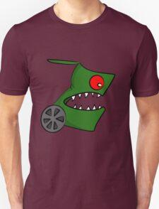 Funny cartoon angry alien T-Shirt