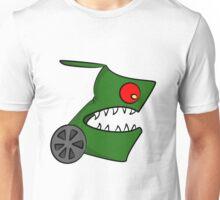 Funny cartoon angry alien Unisex T-Shirt