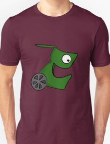 Funny cartoon green alien T-Shirt