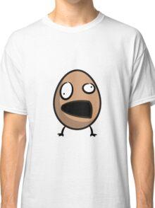 Funny cartoon brown alien Classic T-Shirt