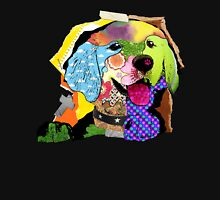 Golden Retriever Mixed Media Collage Unisex T-Shirt