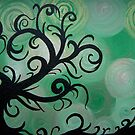 Swirly tree by lins