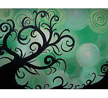 Swirly tree Photographic Print
