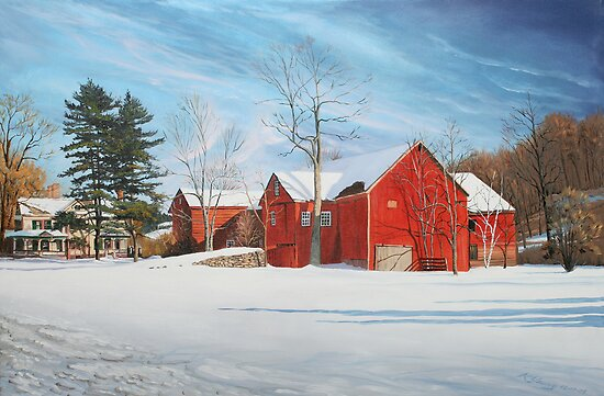 Barns at Bezalel Gables by Kenneth Young