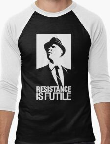 Resistance is Futile Men's Baseball ¾ T-Shirt