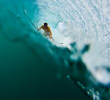 Underwater Barrels by Mick Curley