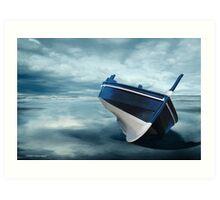 The Solitude of the Sea 2 Art Print