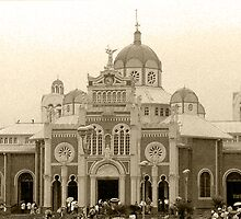 Cartago Basilic in sepia by Guy C. André Tschiderer