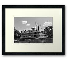 Mark Twain Riverboat  Framed Print