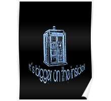 Get to the Tardis! Poster