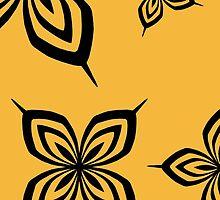 Soi Fon Butterfly Yoruichi by LadyTakara