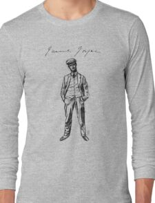 "James Joyce - sketch; (Bloomsday - ""Ulysses"") Long Sleeve T-Shirt"