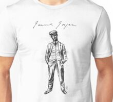 "James Joyce - sketch; (Bloomsday - ""Ulysses"") Unisex T-Shirt"