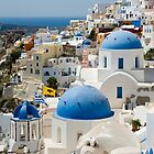Oia the Beautiful by Jacinthe Brault