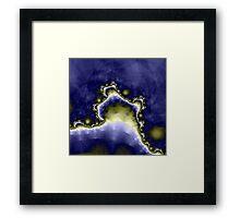 Mount Thadeus at Midnight Framed Print