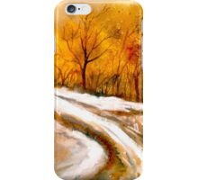 The First Thaw iPhone Case/Skin