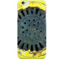 Grate rusted by acid iPhone Case/Skin