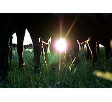 Legs! Photographic Print