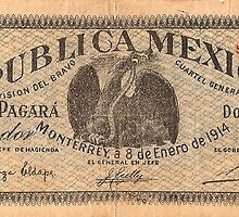 mexican vintage bill by AdriZarate
