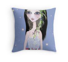 The Melancholic Bride Throw Pillow