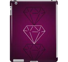 Magenta Tri-Diamond iPad Case/Skin