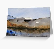 Landscape from Hemsedal (mountain) Greeting Card