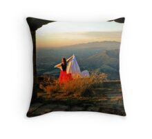 Knapp's View Throw Pillow