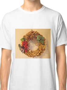 Cork Wreath Classic T-Shirt