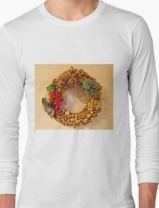 Cork Wreath Long Sleeve T-Shirt