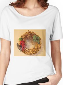 Cork Wreath Women's Relaxed Fit T-Shirt