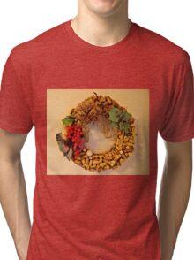 Cork Wreath Tri-blend T-Shirt