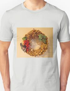 Cork Wreath Unisex T-Shirt