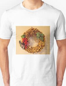 Cork Wreath Unisex T-Shirt