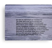 Cold Heartless River Metal Print