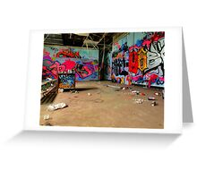 Graffiti High Greeting Card