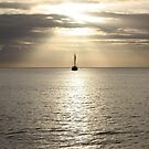 Port Vila Sunset Vanuatu by frenzix